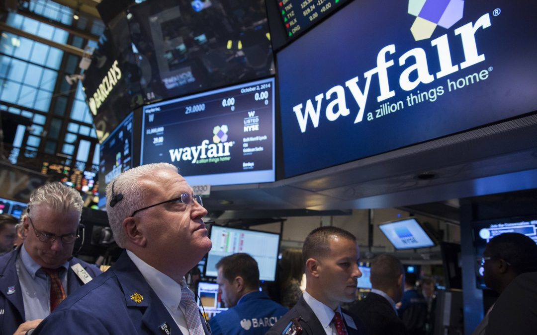 Alibaba, Wayfair, Humana and more