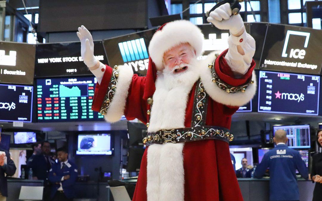 Huge November gains may make the usual year-end 'Santa Claus rally' less likely