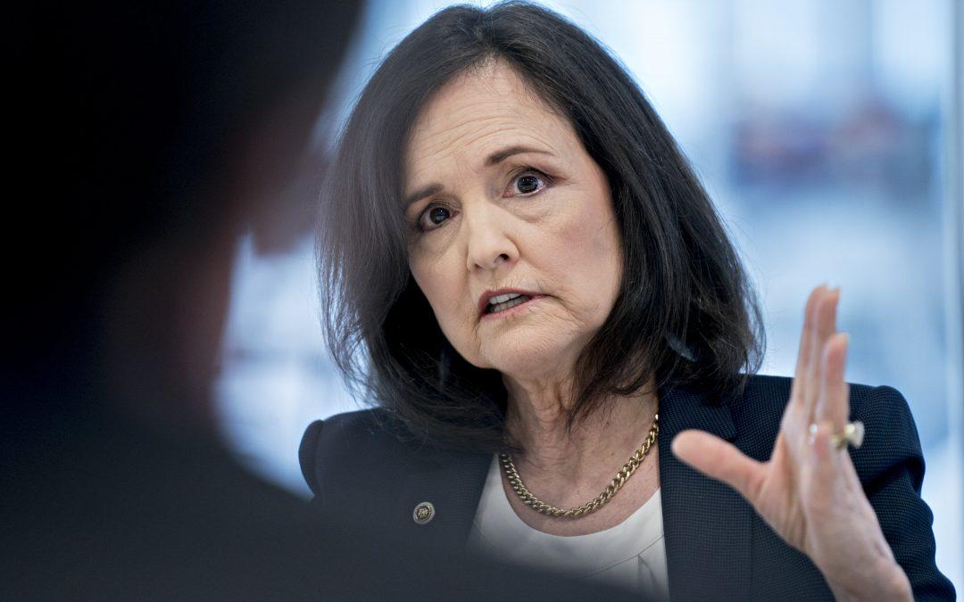 Shelton Fed nomination fails key Senate procedure vote, possibly endingher chances