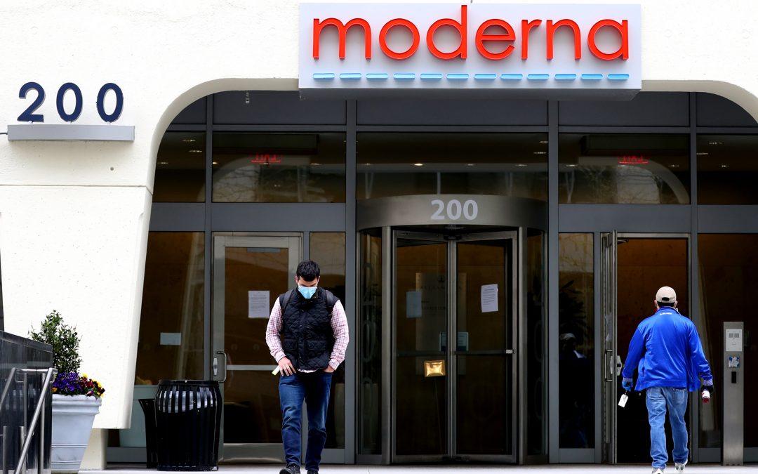 Moderna, Simon Property, BBVA, Virgin Galactic & more