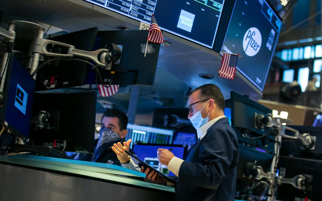 U.S. stock futures rise as Wall Street heads for winning week and a historic month