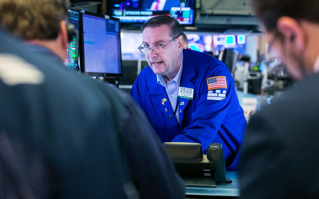 Stock futures are flat after major averages post first negative week in four