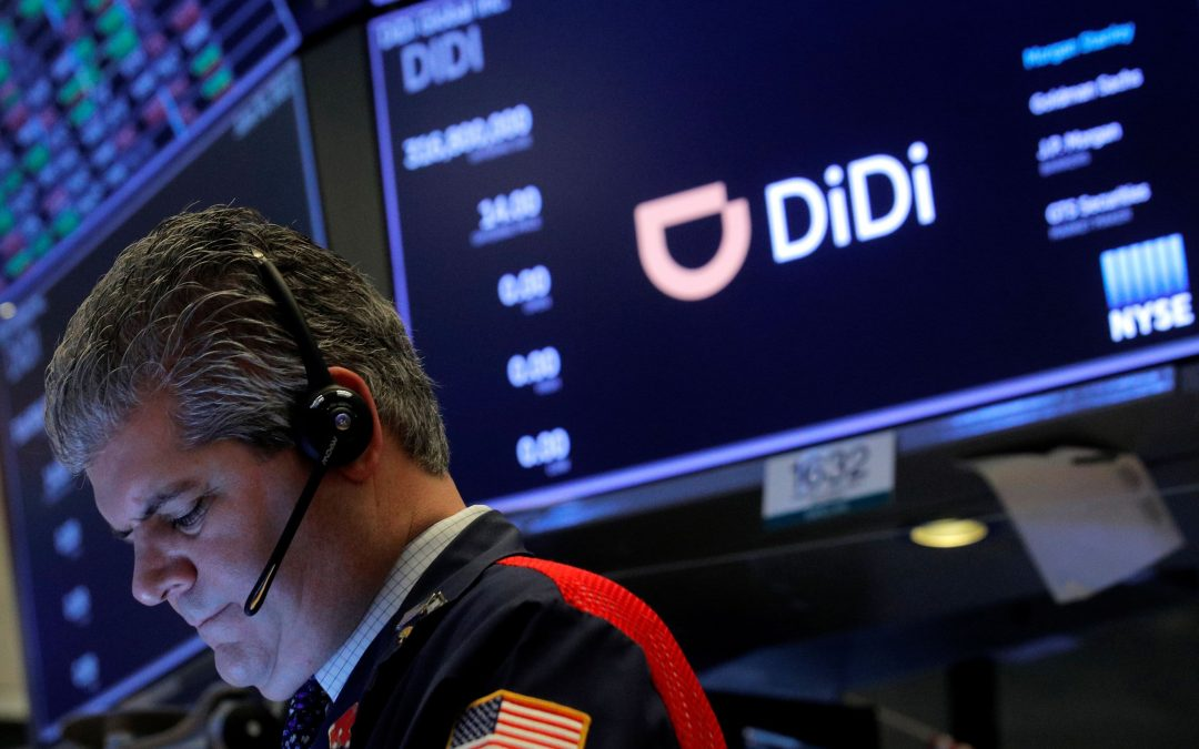 Stocks making the biggest moves in the premarket: Didi, American Express, Pfizer