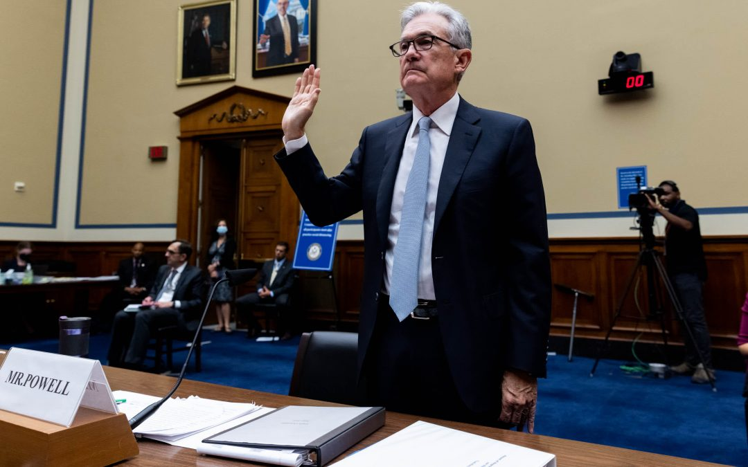 Jerome Powell promotes CBDC digital dollar, warns against stablecoins